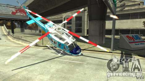 NYPD Bell 412 EP для GTA 4