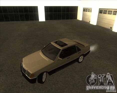 Mercedes Benz 400 SE W140 (Wheels style 2) для GTA San Andreas вид слева