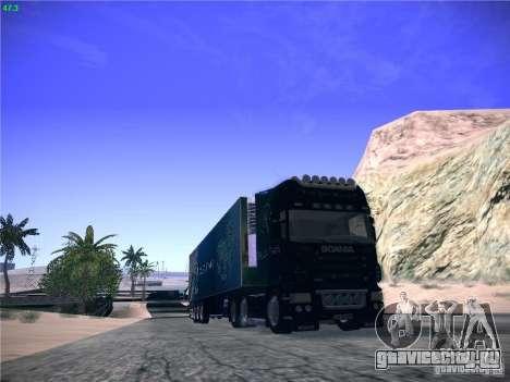 Scania R620 Dubai Trans для GTA San Andreas вид слева