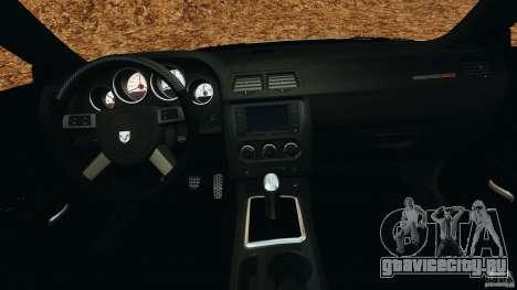 Dodge Rampage Challenger 2011 v1.0 для GTA 4 вид справа