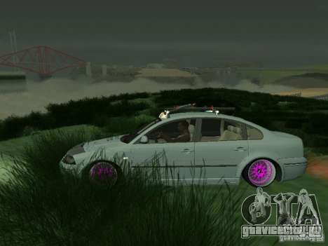 VW Passat B5 Dope для GTA San Andreas вид слева