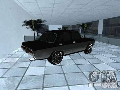 АЗЛК 2140 Москвич Light Tuning для GTA San Andreas вид сзади