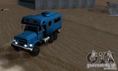 Journey 6x6 Enterable V1 для GTA San Andreas вид изнутри