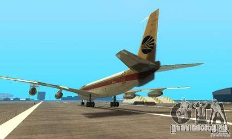 Boeing 707-300 для GTA San Andreas вид слева