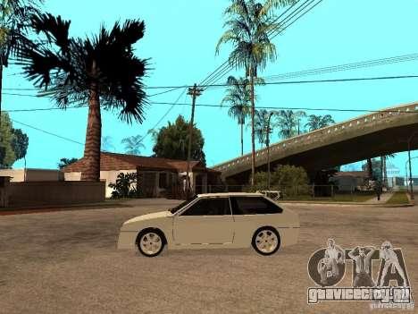 VAZ 2108 Devil V.2 для GTA San Andreas вид слева