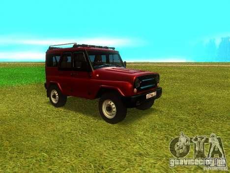 УАЗ 315148 для GTA San Andreas вид сверху