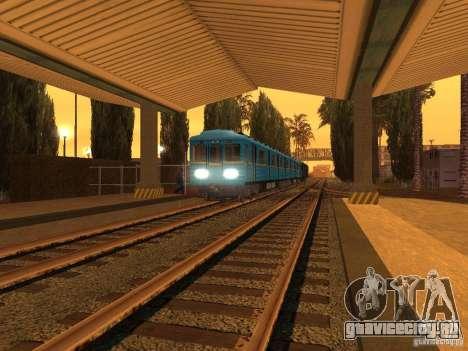 Unity Station для GTA San Andreas четвёртый скриншот