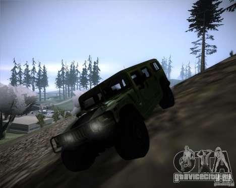 Hummer H1 Alpha для GTA San Andreas вид слева