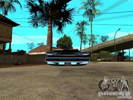 Voozer для GTA San Andreas вид сзади слева