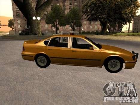 Taxi из GTA IV для GTA San Andreas вид слева