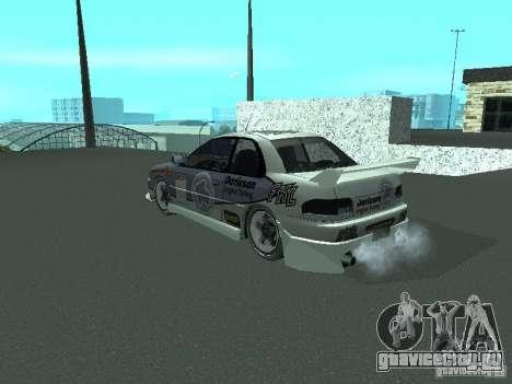 Subaru Impreza для GTA San Andreas вид сбоку
