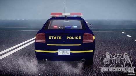 Dodge Charger NY State Trooper CHGR-V2.1M [ELS] для GTA 4 колёса