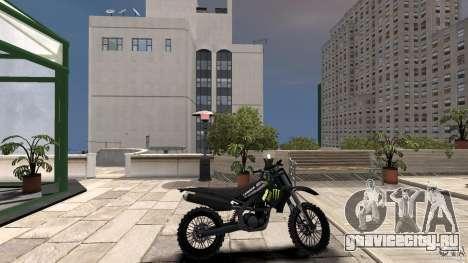 Yamaha YZFM 450 Monster Energy для GTA 4 вид слева