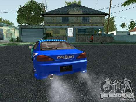 Nissan Silvia S15 Tunable для GTA San Andreas вид снизу