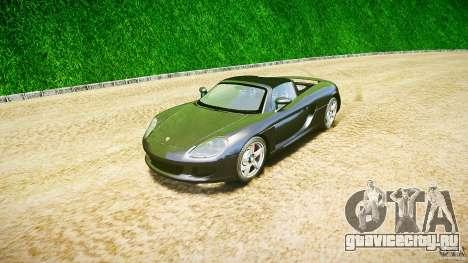 Porsche Carrera GT v.2.5 для GTA 4 вид сзади