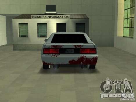 Кровь на машинах для GTA San Andreas второй скриншот