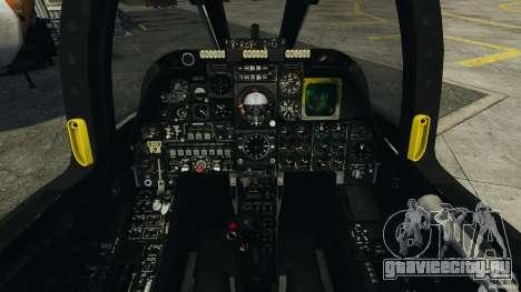 A-10A Thunderbolt II для GTA 4 вид сзади
