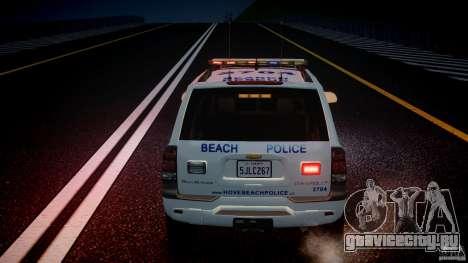 Chevrolet Trailblazer Police V1.5PD [ELS] для GTA 4 двигатель