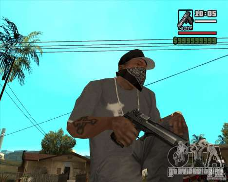 Millenias Weapon Pack для GTA San Andreas седьмой скриншот