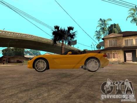 Dodge Viper SRT10 Impostor Tuning для GTA San Andreas вид слева