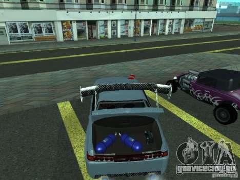 Toyota Carina ED  DRFT для GTA San Andreas вид справа