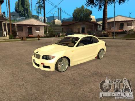 Bmw 135i coupe Police для GTA San Andreas