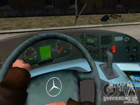 Mercedes Travego для GTA 4 салон