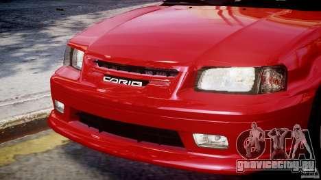 Toyota Sprinter Carib BZ-Touring 1999 [Beta] для GTA 4 двигатель
