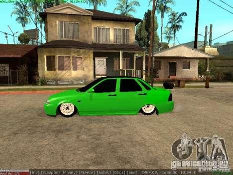 Lada Priora для GTA San Andreas вид слева