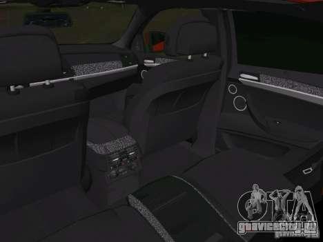 BMW X6M для GTA Vice City вид снизу