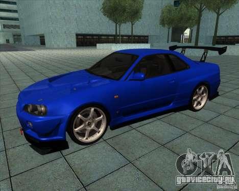 Nissan Skyline R-34 GT-R M-spec Nur для GTA San Andreas