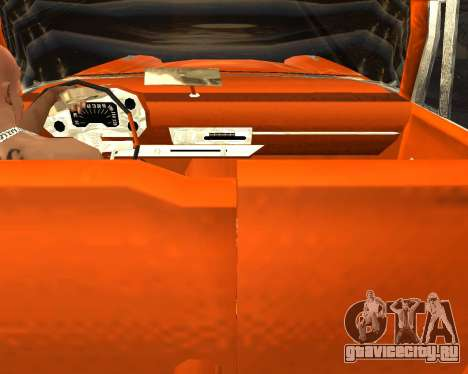 Plymouth Belvedere для GTA San Andreas вид справа