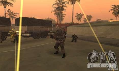 Солдат из CoD MW для GTA San Andreas четвёртый скриншот