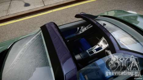 Honda NSX NA2 [Beta] для GTA 4 вид сверху