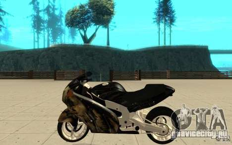 GTAIV TLAD Hakuchou Custom Version [paintjob] для GTA San Andreas вид слева