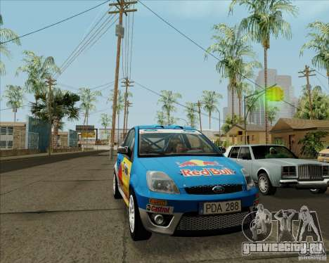 Ford Fiesta ST Rally для GTA San Andreas вид слева