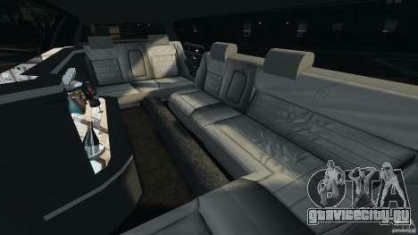 Lincoln Town Car Limousine 2006 для GTA 4 вид изнутри