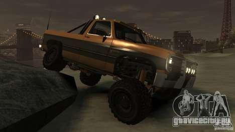 Rancher XL 3.0 для GTA 4 вид сзади
