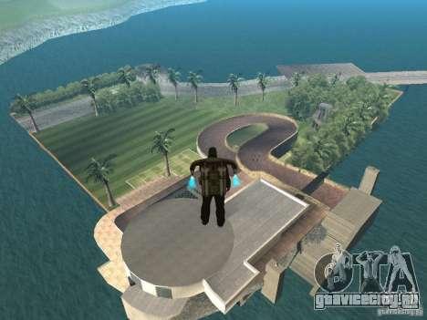 Остров с  особняком для GTA San Andreas