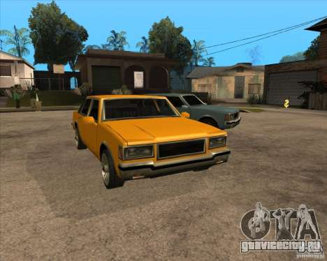 New Greenwood для GTA San Andreas вид сзади