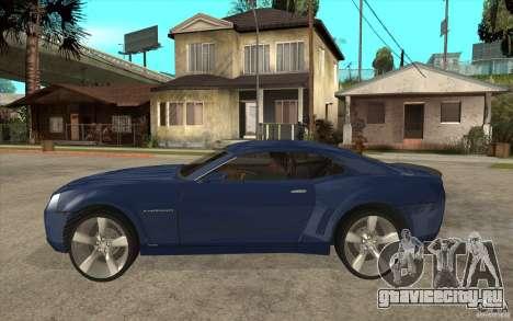 Chevrolet Camaro Concept Tunable для GTA San Andreas вид слева