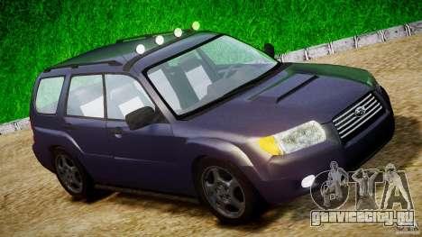 Subaru Forester v2.0 для GTA 4