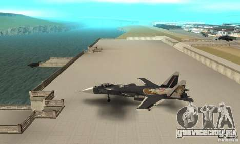 Су-47 «Беркут» Anime для GTA San Andreas вид слева