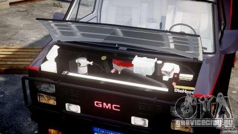 GMC Van G-15 1983 The A-Team для GTA 4 вид справа