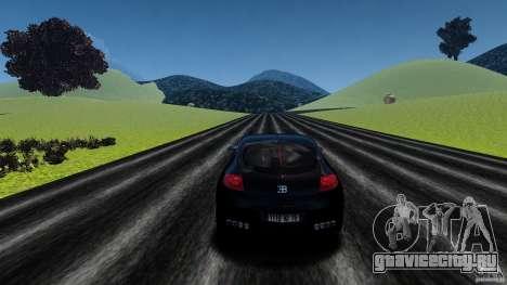 Bugatti Galibier 2009 для GTA 4 вид снизу