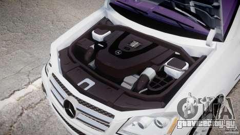 Mercedes-Benz GL450 для GTA 4 вид изнутри