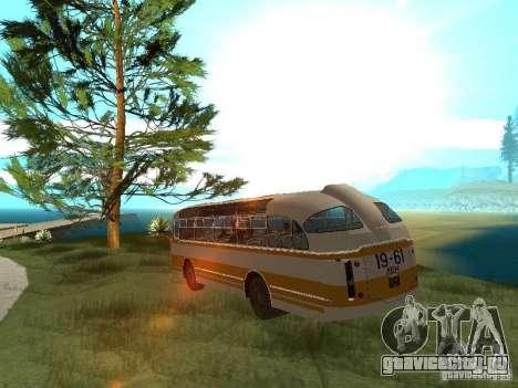 ЛАЗ 695Е для GTA San Andreas вид сзади