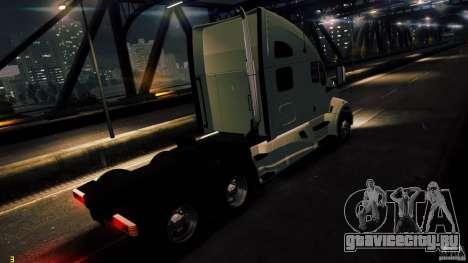 Kenworth T700 2010 Final для GTA 4 вид слева