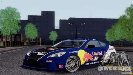 Hyundai Genesis Tunable для GTA San Andreas вид сбоку