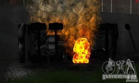 Новые текстуры для авто для GTA San Andreas